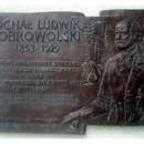 Odsłonięcie tablicy poświęconej Ludwikowi Michałowi Dobrowolskiemu